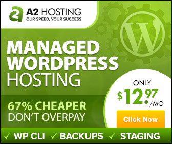 67% Cheaper WordPress Hosting at A2 Hosting