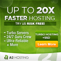 a Faster web hosting service