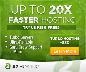 20x Faster Hosting at A2 Hosting